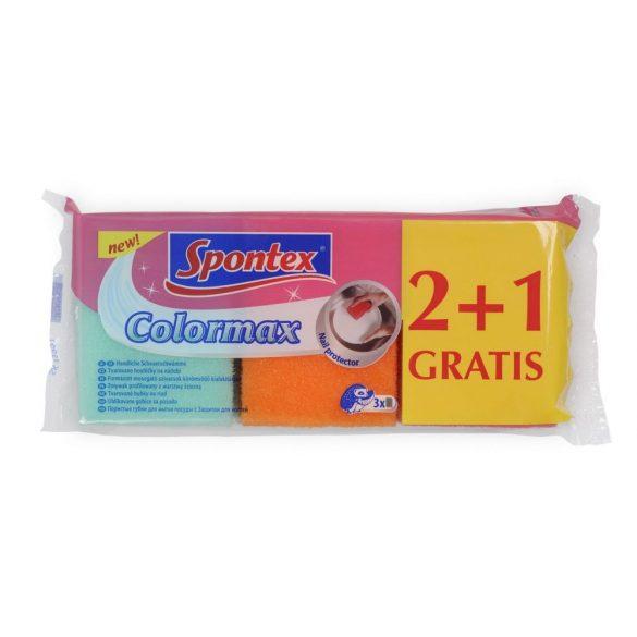 Spontex Colormax körömvédős súroló, 2+1db