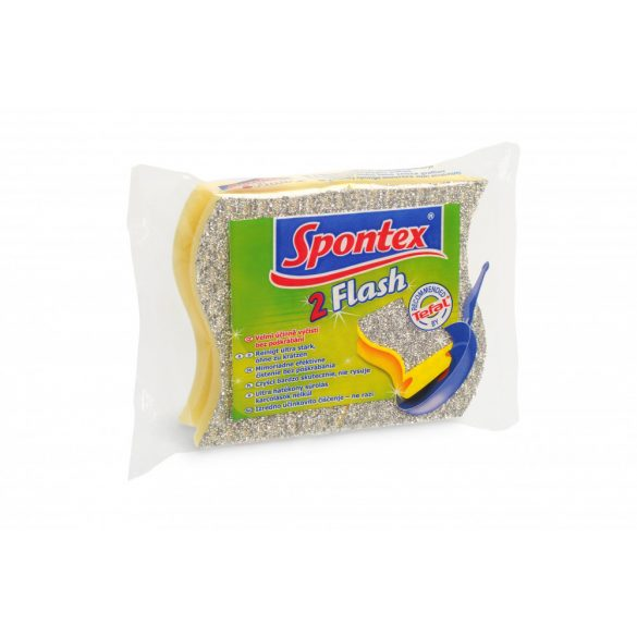 Spontex Flash teflon mosogatószivacs 2 db