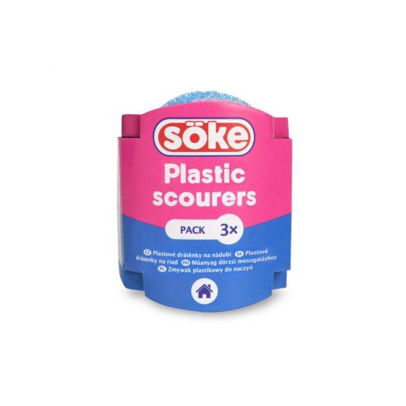 Söke Economic műanyag dörzsi, 3db