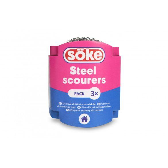 Söke Economic acél dörzsi 3 db