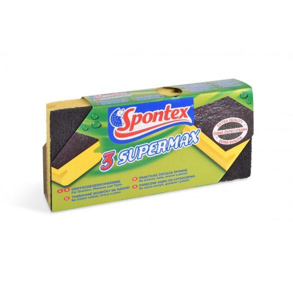 Spontex Supermax körömvédő mosogatószivacs 3 db