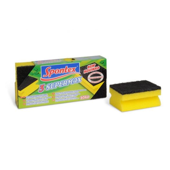 Spontex Supermax körömvédős súroló, 3db