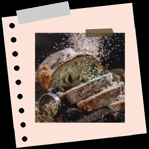 Dióolajos kenyér